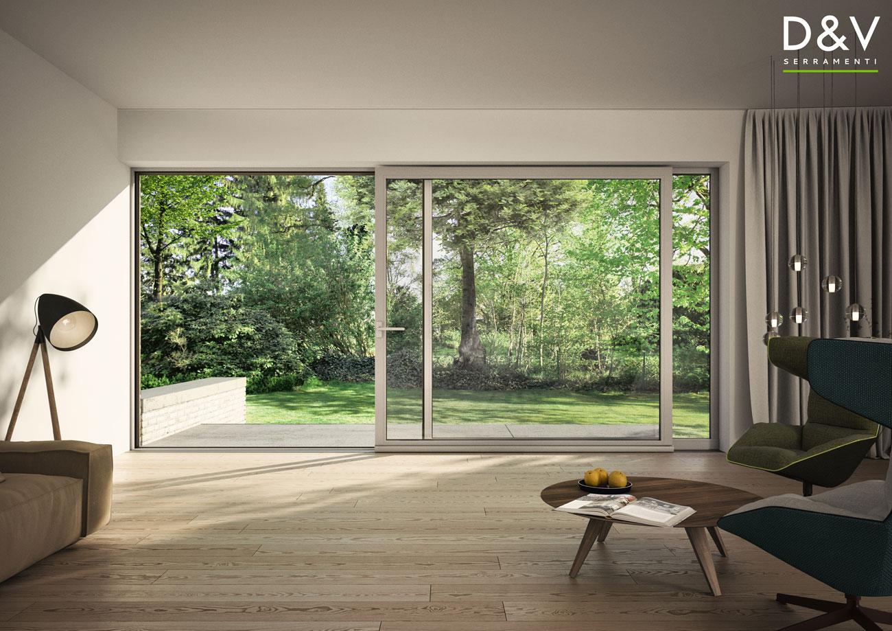 vantaggi finestre alluminio